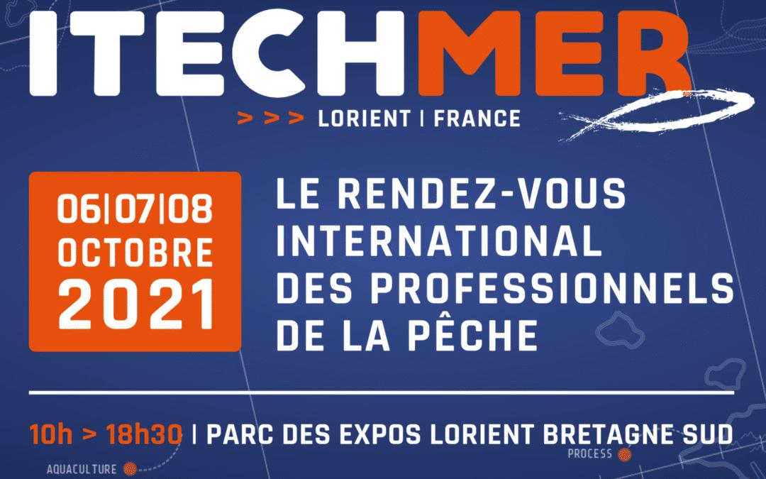OLEN exposant au salon ITECHMER à Lorient les 6,7,8 octobre 2021